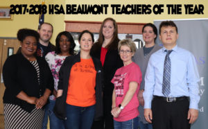 2017-2018 Teachers of the Year